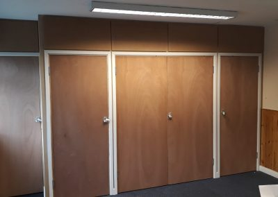 community hall storage cupboards 1