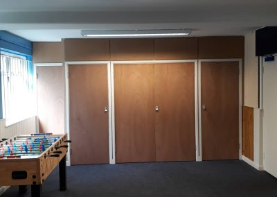 community hall storage cupboards